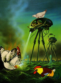 Chickens v Martians