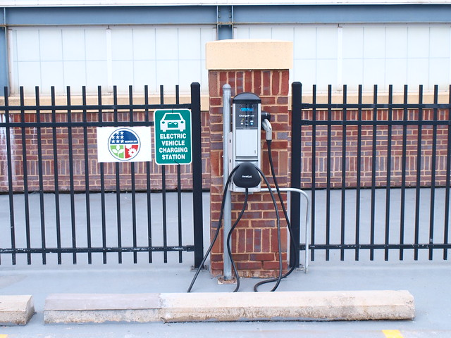 EV Charging Station - RiverCentre Ramp, St. Paul 3