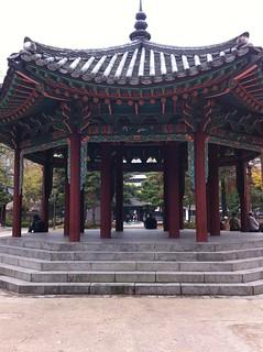 Afbeelding van Palgakjeong Pavilion. park korea seoul jongno 종로구 탑골공원 tapkol tapkolpark