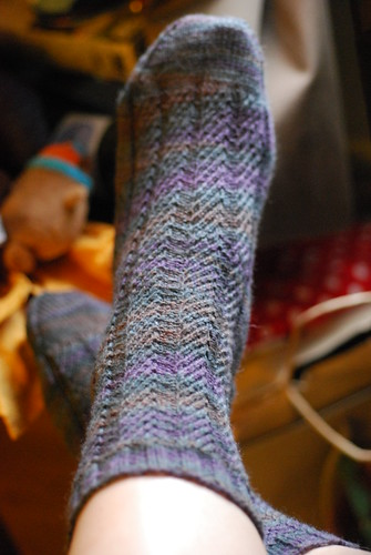 Gentleman's socks finished!