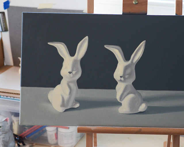 Bunnies - in progress
