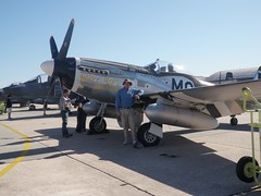 Steve and P-51 Mustang