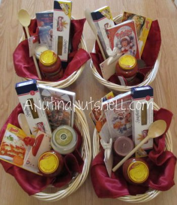 Ragu gift baskets