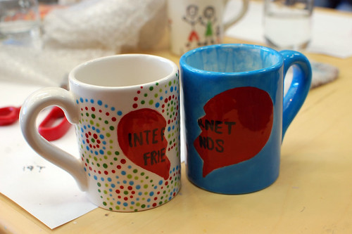 internet friends mugs