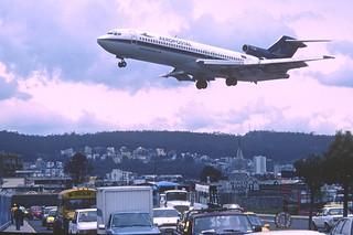 168ai - Aeropostal Boeing 727-231; YV-40C@UIO;01.03.2002