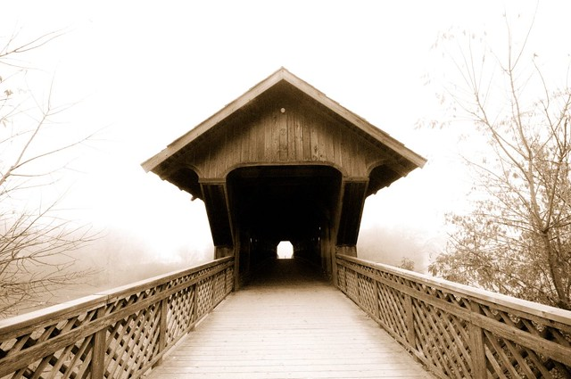 Covered bridges 2 a gallery on flickr for Timber frame bridge
