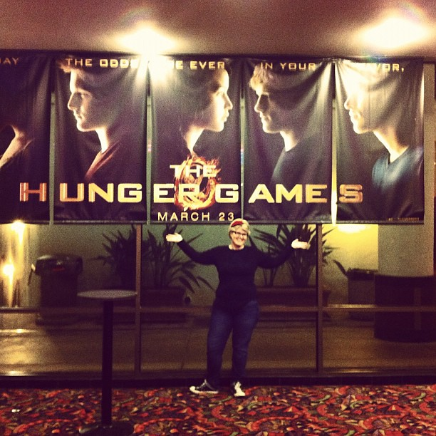 A bit excited about The Hunger Games.