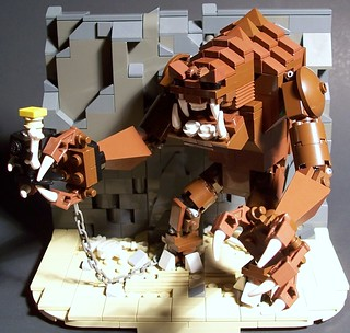 Luke VS The Rancor (Micro-Mood Scale)
