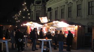 Christmas Market Belvedere - Vienna 2011