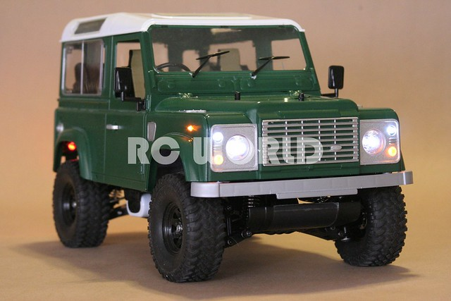 tamiya rc land rover defender 90 explore rc world radio. Black Bedroom Furniture Sets. Home Design Ideas