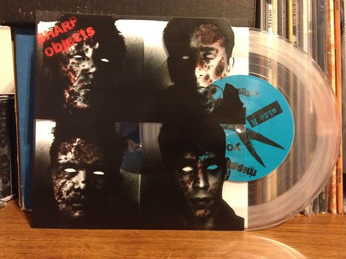 "Sharp Objects - Zero Ambition 7"" - Clear Vinyl /100"