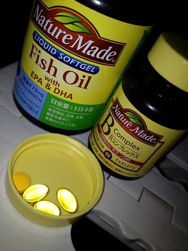 take EPA&DHA,vitamin B