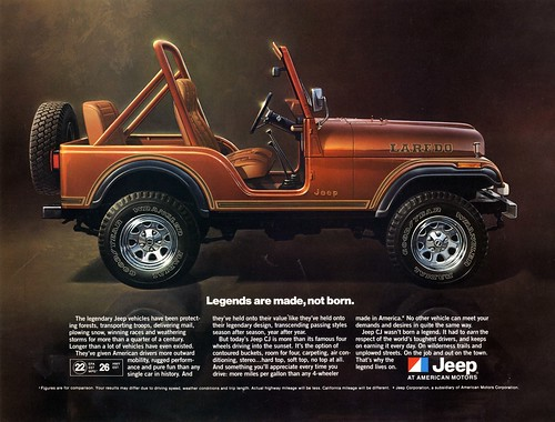 Jeep Legends Advertisement by lee.ekstrom