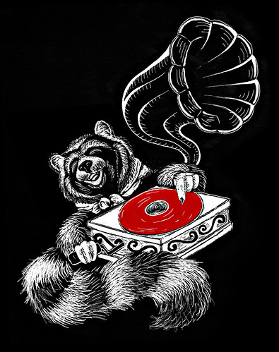 brookeduckart_Raccoons-Red-Records