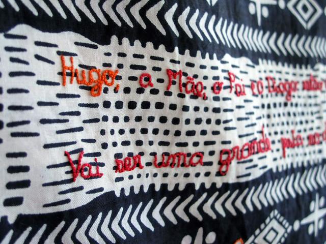 """""""Hugo"""" baby blanket"""