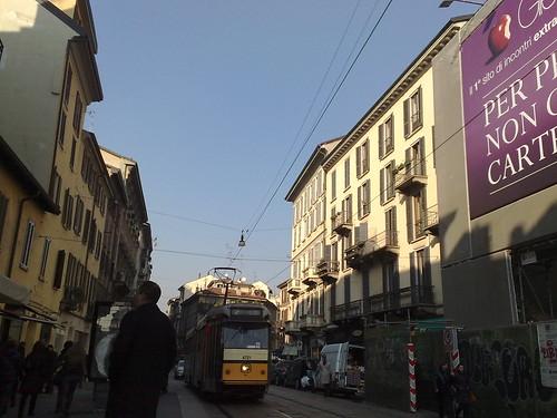 L'arrivo del tram by durishti