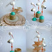 Stork Favor Boxes & Place Card Holders by Robert Mahar