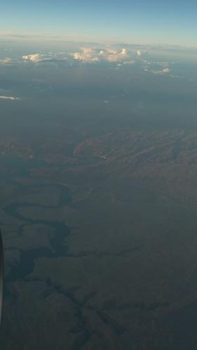clouds landscape aerial