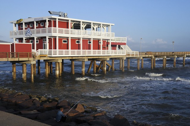 New galveston fishing pier day 6 flickr photo sharing for Galveston fishing pier
