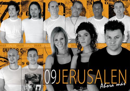 Jerusalén 2009 - orquesta - cartel