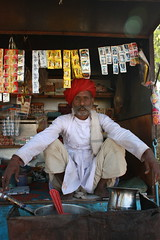 Pushkar, chai wallah (tea vendor)