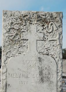 At rest - Woodmen of the World gravestone - Melanie Schmidt