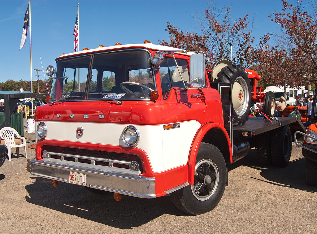 6100 Ford Tractor : Ford c series truck autos post