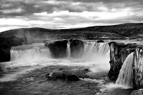 Goðafoss (waterfall of the gods)