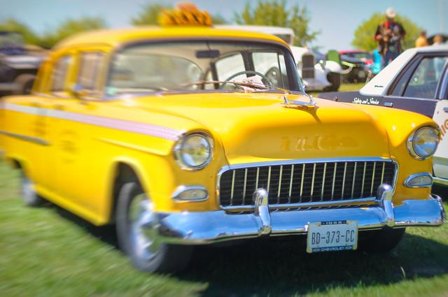 Rencontre avec un Taxi New Yorkais - Chevrolet 1955