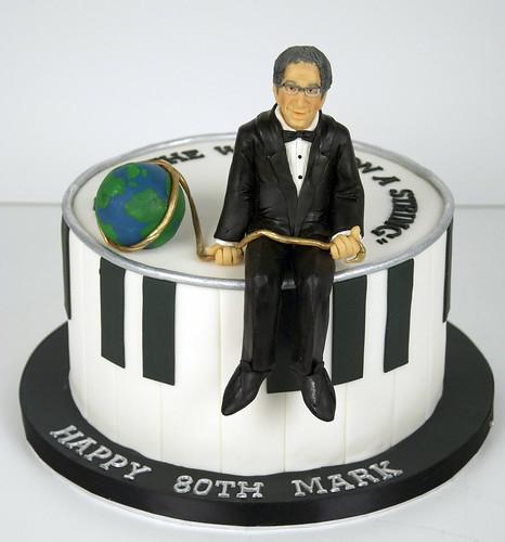 piano 80th birthday cake toronto
