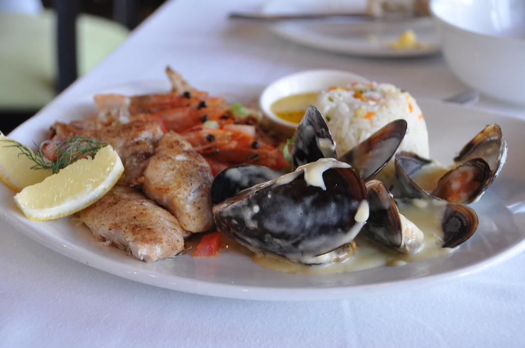 Dinner at Sirocco in Knysna