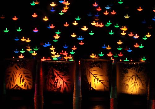 Custom bokeh for diwali