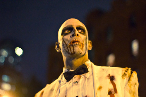 NYC Village Halloween Parade by michele palazzo