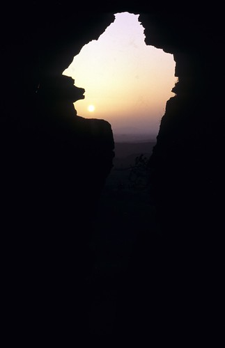 Kesh Cave sunset