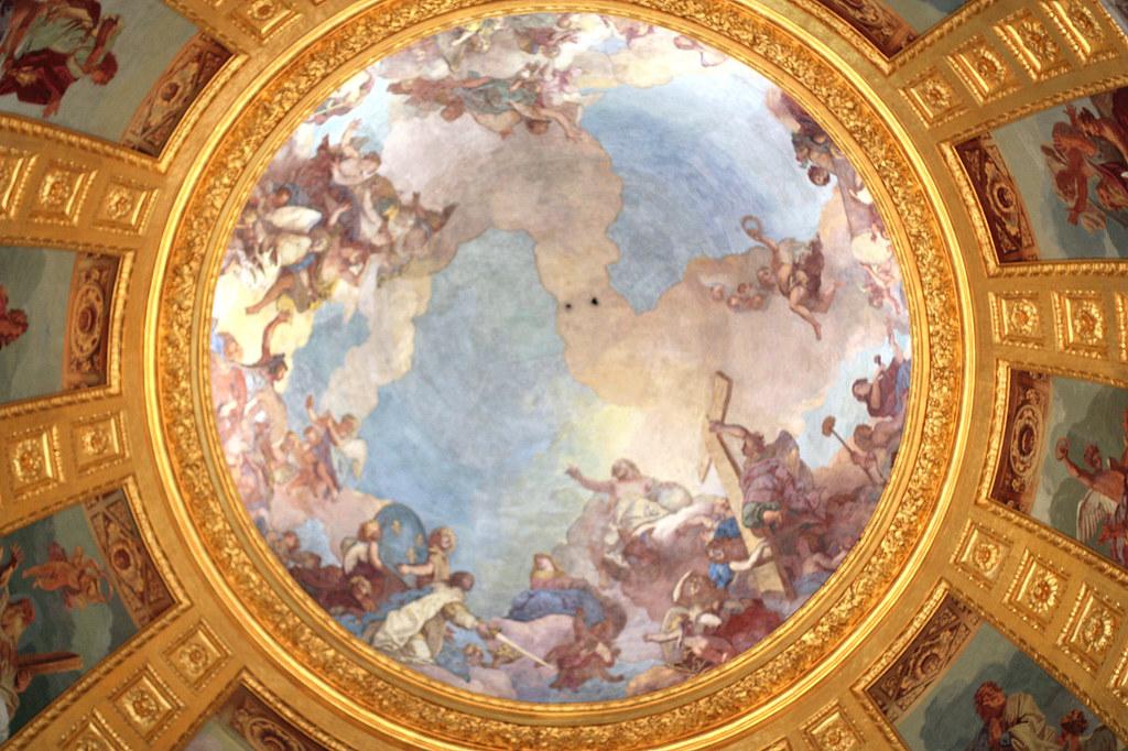 Charles de la Fosse's dome