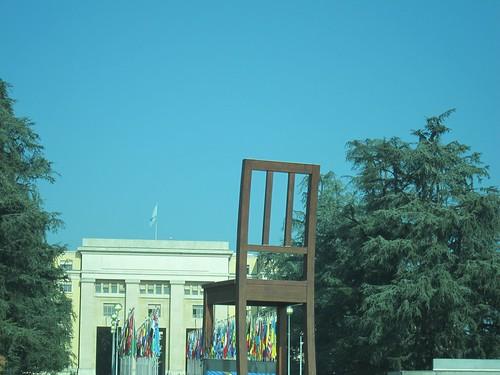 Ginebra, Palacio de las Naciones. Sede de la ONU en Ginebra