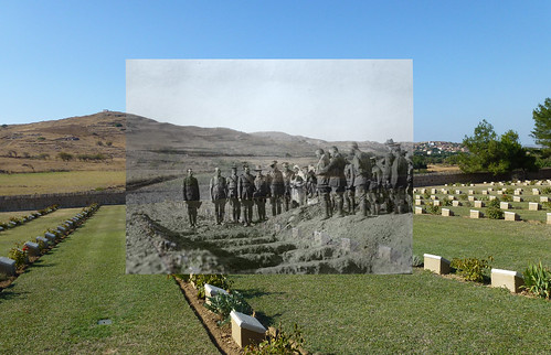 cemetery thenandnow limnos lemnos portianou
