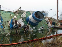 Ship salvage Ekerö