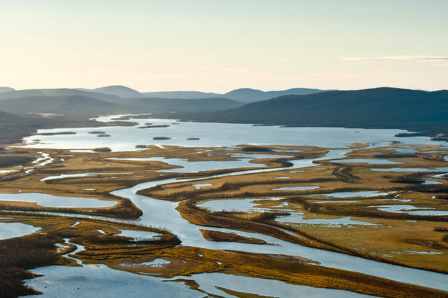 View of Rapa delta from Nammatj, Sarek N.P.