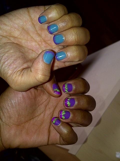 Nails by Melissa at @tipsnailbar