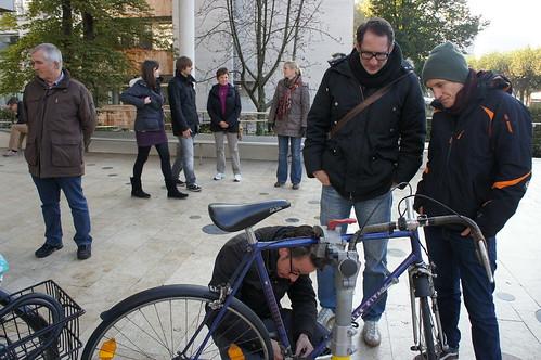 Fahrradwerkstatt mit SIKS eV.