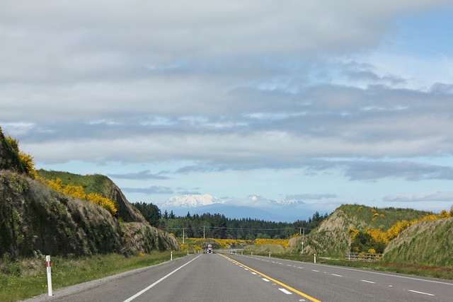 The road south from Taupo