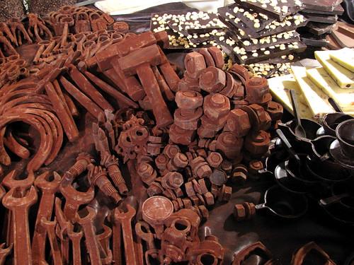 Herramientas de chocolate