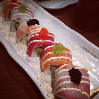 Rainbow Roll, Sushi Tei