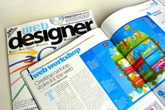 Web Designer Magazine workshop (inside)