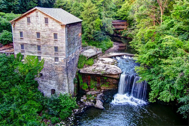 Lanterman's Mill, Mill Creek Park, Youngstown, Ohio