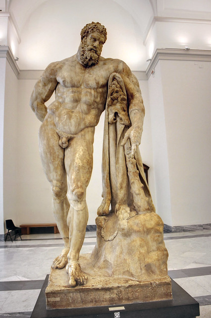 farnese hercules naples national archaeological museum