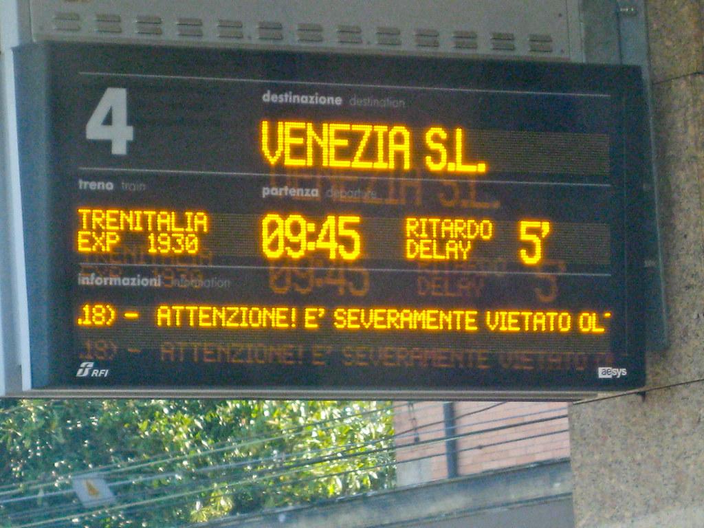 Venice Train Station