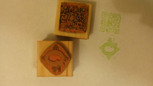 New quelab hackerspace passport stamps