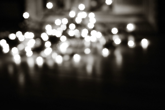 little lights bw